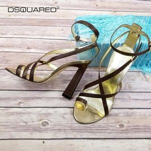Dsquared2 Toe-ring High Heels Sandals
